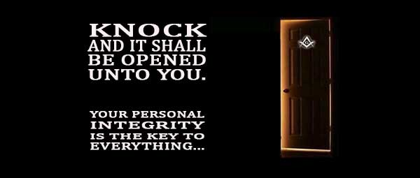 Knock and it shall be Opened unto you.